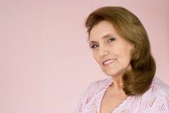 åldringstandskvinna Arkivfoto