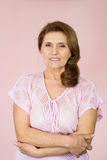 åldringstandskvinna Arkivbild