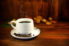 Ånga kaffe royaltyfri fotografi