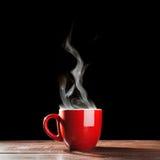 Ånga kaffekoppen Royaltyfria Foton