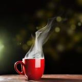 Ånga kaffekoppen Royaltyfri Fotografi