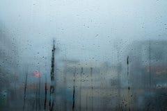 Ånga på fönstret Arkivfoton