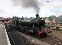 Ånga tokiga Kidderminster Severn Valley Railway Royaltyfri Bild