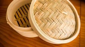 ångad bambu Arkivfoton