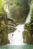 Ångad vattenfall Arkivbilder
