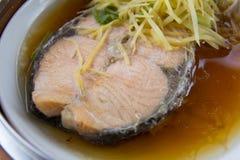 Ångade Salmon Fish Royaltyfri Fotografi