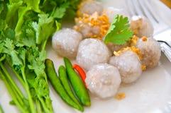 ångade tapiokor för bollar klimp Royaltyfri Foto