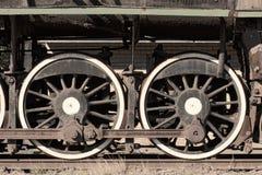 ångadrevhjul Arkivbilder