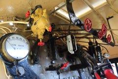 Ångalokomotiv D4 268 Fotografering för Bildbyråer