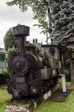 Ångalokomotiv, järnväg Royaltyfria Foton