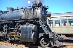 Ångalokomotiv, Scranton, PA, USA arkivbilder