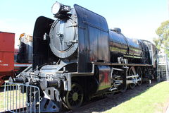 Ångalokomotiv X 36 Royaltyfri Fotografi