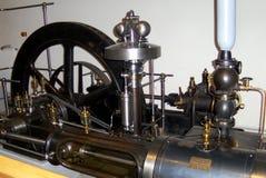 Ångamotor i det tekniska museet i Munchen (Technische Muzeum Munchen) Arkivbilder