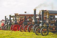 Ångamotorer och lorries! royaltyfri foto