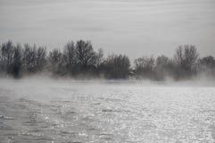 Ångande flod Royaltyfri Fotografi