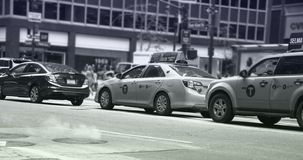 Ångaresning från NYC-gatorna arkivbild