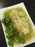 ångat kryddigt för fisk Royaltyfri Foto