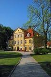 Åomnica Villa Polen, Europ Stockfotos