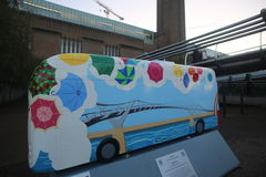 År av bussen Royaltyfria Foton
