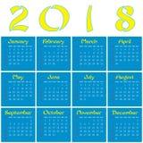 2018 - År av en gul hund Royaltyfria Bilder
