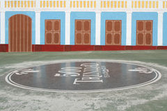 500 år av fundamentet av Trinidad Arkivbilder