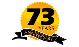 73 år bandårsdag Royaltyfri Foto
