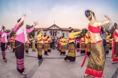 720 år Chiang Mai Fotografering för Bildbyråer