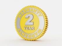 år för 2 garanti Arkivbilder