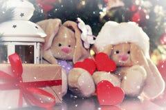 År för mjuk leksak för lykta nytt Royaltyfri Fotografi