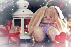 År för mjuk leksak för lykta nytt Royaltyfri Bild