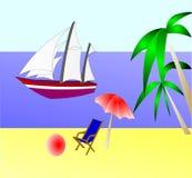 år för restsegelbåthav Arkivfoton