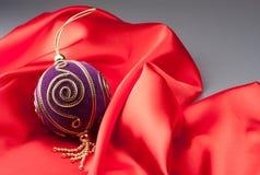år för sphere för red s för tyg nytt Royaltyfri Fotografi