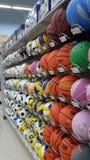 år för tree för toys för bollgran nytt Royaltyfri Bild