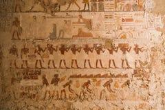 1500 år F. KR. forntida egyptiska gravar Royaltyfri Foto