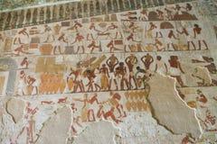 1500 år F. KR. forntida egyptiska gravar Arkivbilder