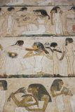 1500 år F. KR. forntida egyptiska gravar Arkivfoton