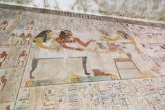 1500 år F. KR. forntida egyptiska gravar Fotografering för Bildbyråer
