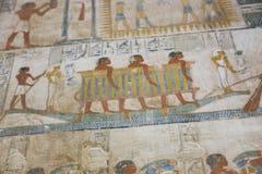 1500 år F. KR. forntida egyptiska gravar Arkivfoto
