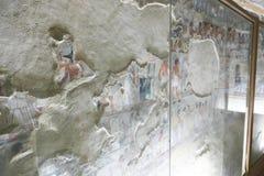 1500 år F. KR. forntida egyptiska gravar Arkivbild