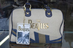 År ITALY_50 Beatleset Arkivfoton