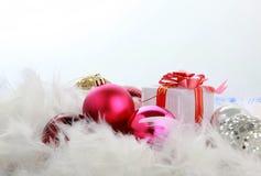ÅR Joyeux Noel Royaltyfri Fotografi