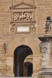 Århundrade för fasad för Santiagosjukhussten 16th UNESCOarv Ubeda Jaen arkivbild
