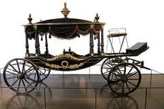 Århundrade för hästvagnsbegravning XIX Fotografering för Bildbyråer