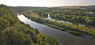 Århundrade för helig Treenighet XVII för fästningdiken Zbruch flod Arkivfoton