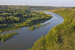 Århundrade för helig Treenighet XVII för fästningdiken Zbruch flod Fotografering för Bildbyråer