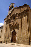 Århundrade för San Bartolome kyrka XVIII, Borja, fotografering för bildbyråer