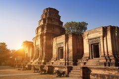 Århundrade för tempel ruins12th i Angkor Wat, Siem Reap, Cambodja arkivfoto
