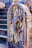 12 århundrade Gal Vihara Temple Fotografering för Bildbyråer