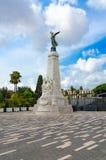 Århundrade Monument Monument du Centenaire på Promenade des Anglais, Nice, ` Azur, Frankrike för skjul D arkivbild