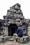 12 århundrade tempel Arkivfoton